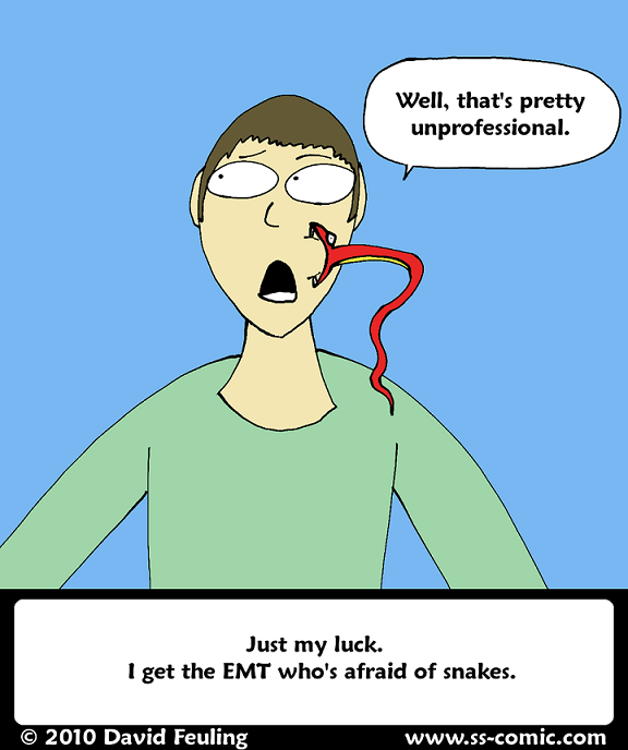 Snakes: Tenacious Face Biters